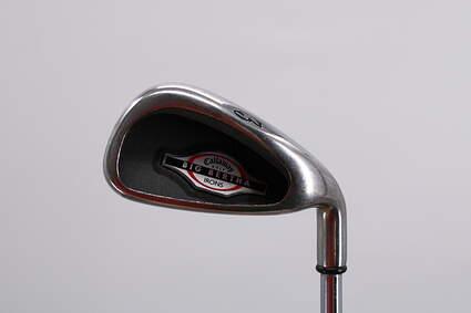 Callaway 2002 Big Bertha Single Iron 3 Iron Callaway Stock Steel Steel Uniflex Right Handed 39.25in
