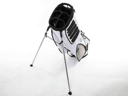 Brand New 10.0 Ogio Hauler White Stand Bag *NO STRAP & MISSING OUTSIDE POCKETS*