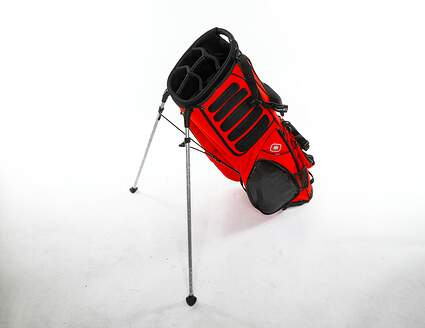 Brand New 10.0 Ogio Hauler Red/Black Stand Bag *MISSING OUTSIDE POCKETS AND STRAPS*