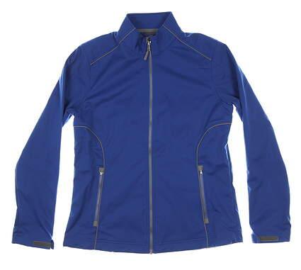 New Womens Cutter & Buck Golf Jacket Medium M Blue MSRP $115 LCO01220