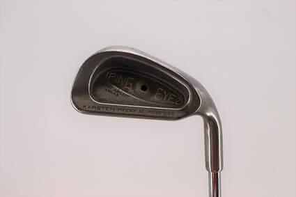 Ping Eye 2 Single Iron 6 Iron Ping ZZ Lite Steel Stiff Right Handed Black Dot 37.5in