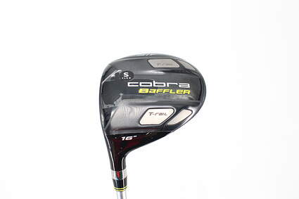 Mint Cobra Baffler T Rail Fairway Wood 3 Wood 3W 16° Cobra Tour AD Baffler Graphite Stiff Left Handed 41.0in