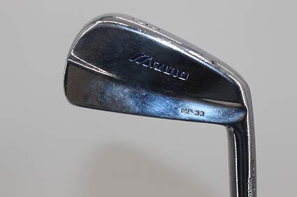 Mizuno MP 33 Single Iron 3 Iron Stock Steel Shaft Steel Stiff Right Handed 39.5in