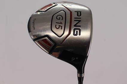 Ping G15 Driver 9° Aldila RIP Alpha 60 Graphite X-Stiff Right Handed 45.5in