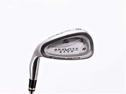 Cobra Gravity Back Single Iron 8 Iron Stock Steel Shaft Steel Regular Left Handed 36.5in