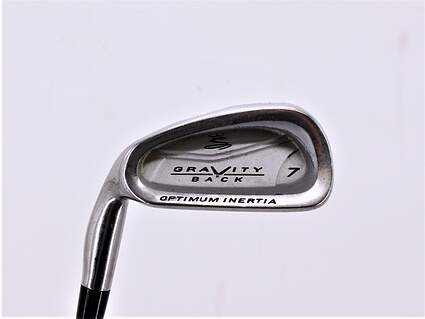 Cobra Gravity Back Single Iron 7 Iron Stock Steel Shaft Steel Regular Left Handed 37.0in