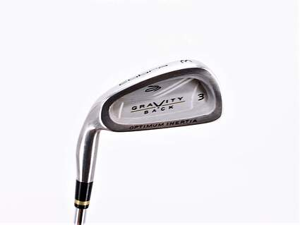 Cobra Gravity Back Single Iron 3 Iron Stock Steel Shaft Steel Regular Left Handed 39.0in