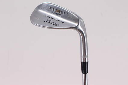 Tour Issue Titleist Vokey Chrome 200 Wedge Sand SW 54° 10 Deg Bounce True Temper Dynamic Gold Steel Wedge Flex Right Handed 35.25in