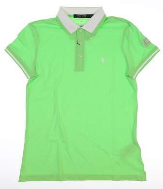 New W/ Logo Womens Ralph Lauren Polo Small S Green MSRP $85