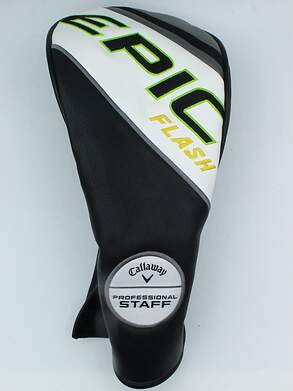 Callaway Epic Flash Professional Staff Driver Headcover White/Black/Green