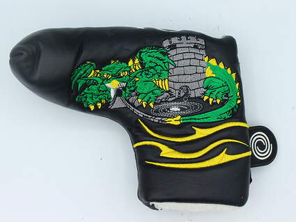 Odyssey Green Dragon Custom Blade Putter Headcover Black/Green/Yellow