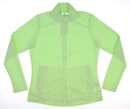 New Womens Adidas Essential Layer Small S Green MSRP $65 DZ6357