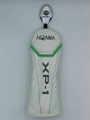 Honma Tour World XP-1 Ladies Hybrid Headcover w/adjustable Tag White/Green/Silver