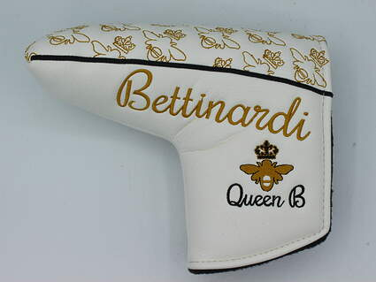 Bettinardi Queen B Blade Putter Headcover Gold/White