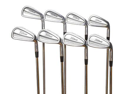 Titleist 714 CB Iron Set 3-PW True Temper Dynamic Gold S300 Steel Stiff Right Handed 39.0in