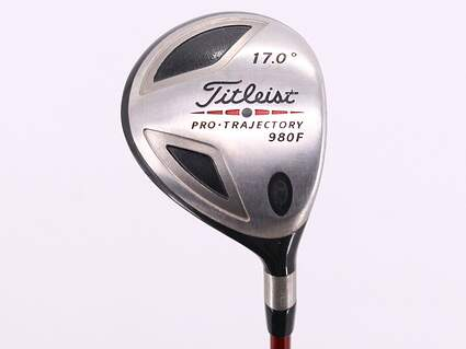 Titleist 980 F Fairway Wood 4 Wood 4W 17° Grafalloy ProLite Fairway Graphite Regular Right Handed 42.5in