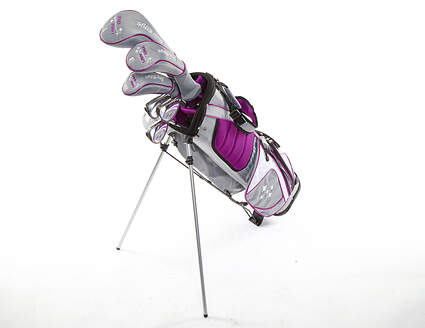 Tour Edge Lady Edge 18 Starter Golf Club Set Purple Standard Right Handed