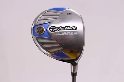 TaylorMade 2007 Burner Steel Fairway Wood 3 Wood 3W 15° TM Reax Superfast 50 Graphite Ladies Right Handed 42.25in