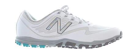 New Womens Golf Shoe New Balance 1006 Medium 6.5 White/Grey MSRP $85 NBGW1006WT