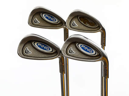 Ping i5 Iron Set 7-PW Rifle 6.0 Steel Stiff Right Handed Black Dot 38.25in