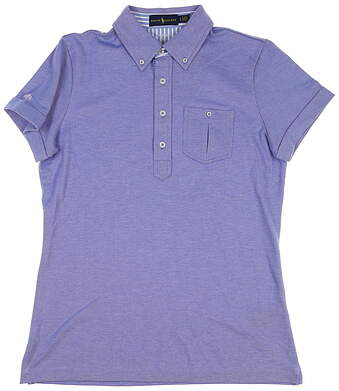New Womens Ralph Lauren Polo Large L Blue MSRP $100