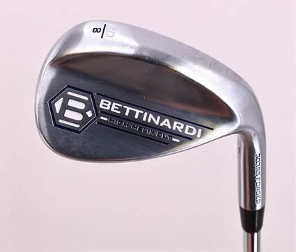 Bettinardi 2018 H2 303 SS Wedge Lob LW 60° 8 Deg Bounce True Temper Dynamic Gold S200 Steel Stiff Right Handed 34.75in