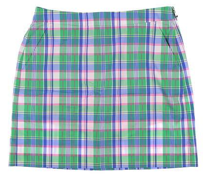 New Womens Ralph Lauren Golf Skort 4 Multi MSRP $148
