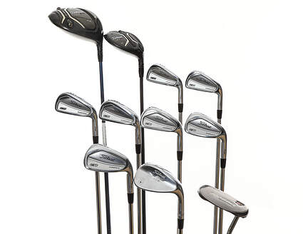 Mens Complete Golf Club Set Right Handed Stiff Flex Titleist Driver Rossa Putter 716 irons Wedge Retail Price $2285 Used Golf Club