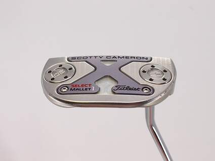 Titleist Scotty Cameron 2016 Select Newport M1 Mallet Putter Mid Hang Steel Right Handed 33.0in
