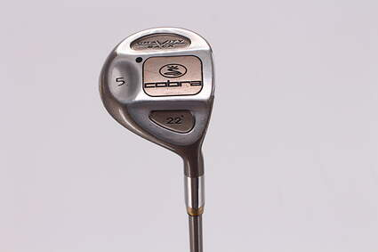 Cobra Gravity Back Fairway Wood 5 Wood 5W 22° Stock Graphite Shaft Graphite Ladies Right Handed 41.25in