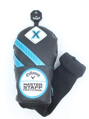 Callaway Master Staff Professional X Hybrid Headcover w/Interchangeable Tag Black