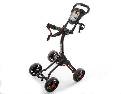 Brand New 10.0 Bag Boy Quad J. Golf Push and Pull Cart Black (In Stock)
