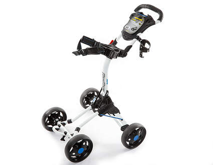 Brand New 10.0 Bag Boy Quad J. Golf Push and Pull Cart White (In Stock)