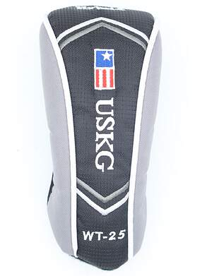 US Kids WT-25 Hybrid Headcover Black/Silver