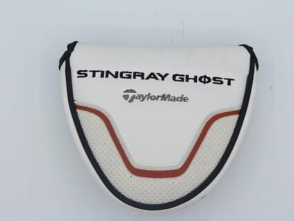 TaylorMade Stingray Ghost ST-72 Putter Headcover w/Magnetic Closure White