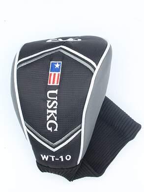 US Kids CV2 WT-20 Driver Headcover Black/Silver