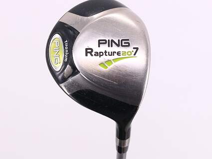 Ping Rapture Fairway Wood 7 Wood 7W 20° Ping TFC 909F Graphite Regular Right Handed 42.0in