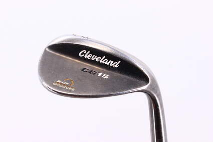 Cleveland CG15 Black Pearl Wedge Lob LW 58° 12 Deg Bounce Dynamic Gold Super Lite 300 Steel Stiff Right Handed 35.5in
