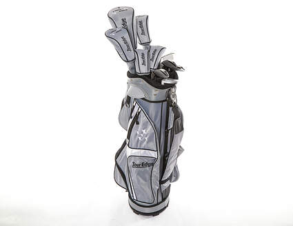 Tour Edge Lady Edge 18 Complete Golf Set Standard Black Graphite Right Hand