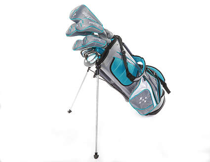 Tour Edge Lady Edge 18 Complete Golf Club Set Teal Standard Right Handed