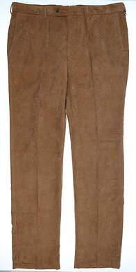 New Mens Peter Millar Pants 38 Khaki MSRP $70 MF15B91