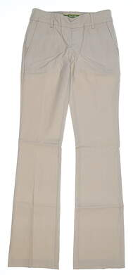 New Womens Swing Control Pants 0 Tan MSRP $30 8010SW