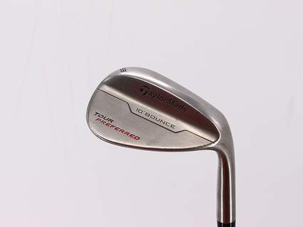 TaylorMade 2014 Tour Preferred Bounce Wedge Lob LW 58° 10 Deg Bounce FST KBS Tour-V Steel Wedge Flex Right Handed 35.5in