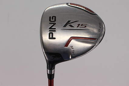 Ping K15 Fairway Wood 5 Wood 5W 19° Ping TFC 149F Graphite Regular Left Handed 42.25in