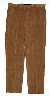 New Mens Bobby Jones Pants 36 Tan MSRP $129 BJM50004