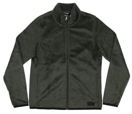 New Womens Puma Sherpa Fleece Small S Green MSRP $80 597716 01