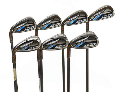 Ping G30 Iron Set 5-PW SW Ping TFC 419i Graphite Senior Left Handed Red dot 37.75in