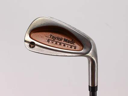 TaylorMade Burner Oversize Single Iron Pitching Wedge PW TM Bubble Graphite Stiff Right Handed 35.75in