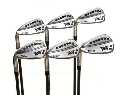 Mint PXG 0311 XF GEN2 Chrome Iron Set 5-PW Mitsubishi MMT 50 Graphite Ladies Left Handed 38.0in