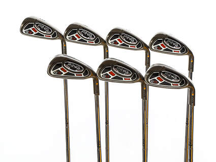 Ping G15 Iron Set 3-9 Iron Ping Z-Z65 with Cushin Insert Steel Stiff Right Handed Yellow Dot 37.75in